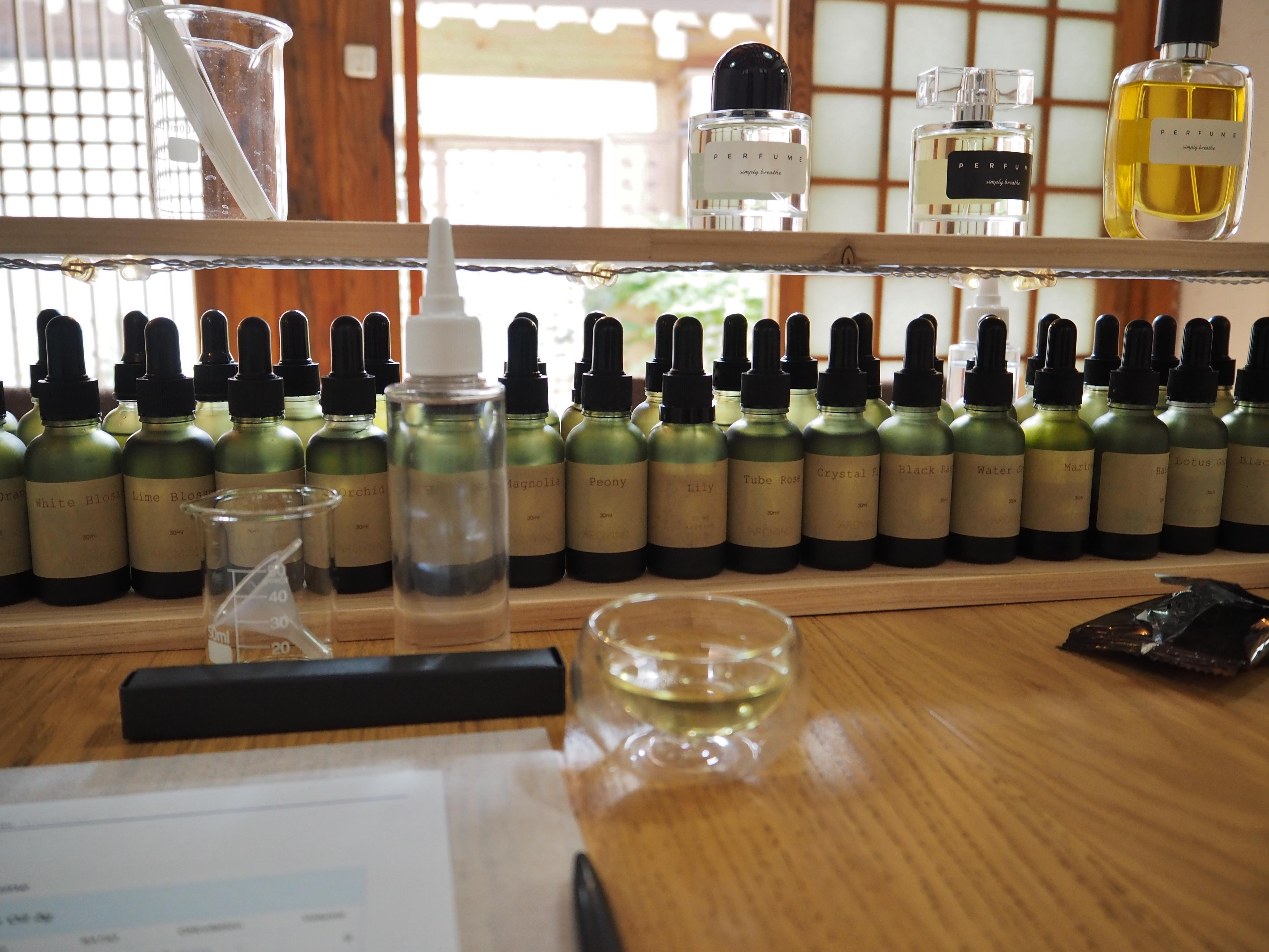 Visiting Seoul? Learn how to make a custom perfume.
