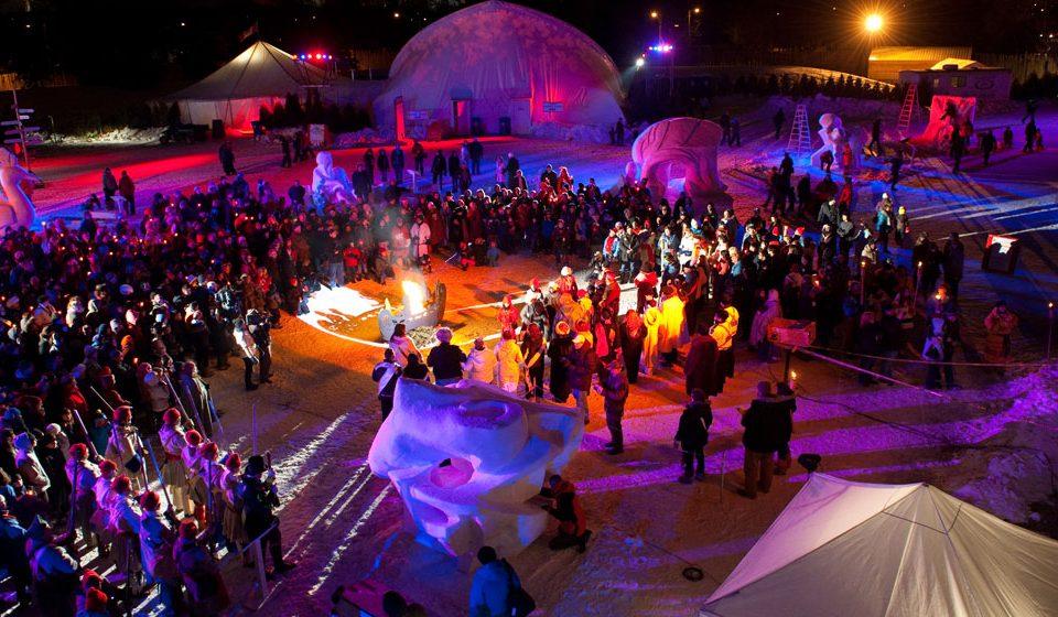 Winter Festival Canada North American Traveller La Petite Watson