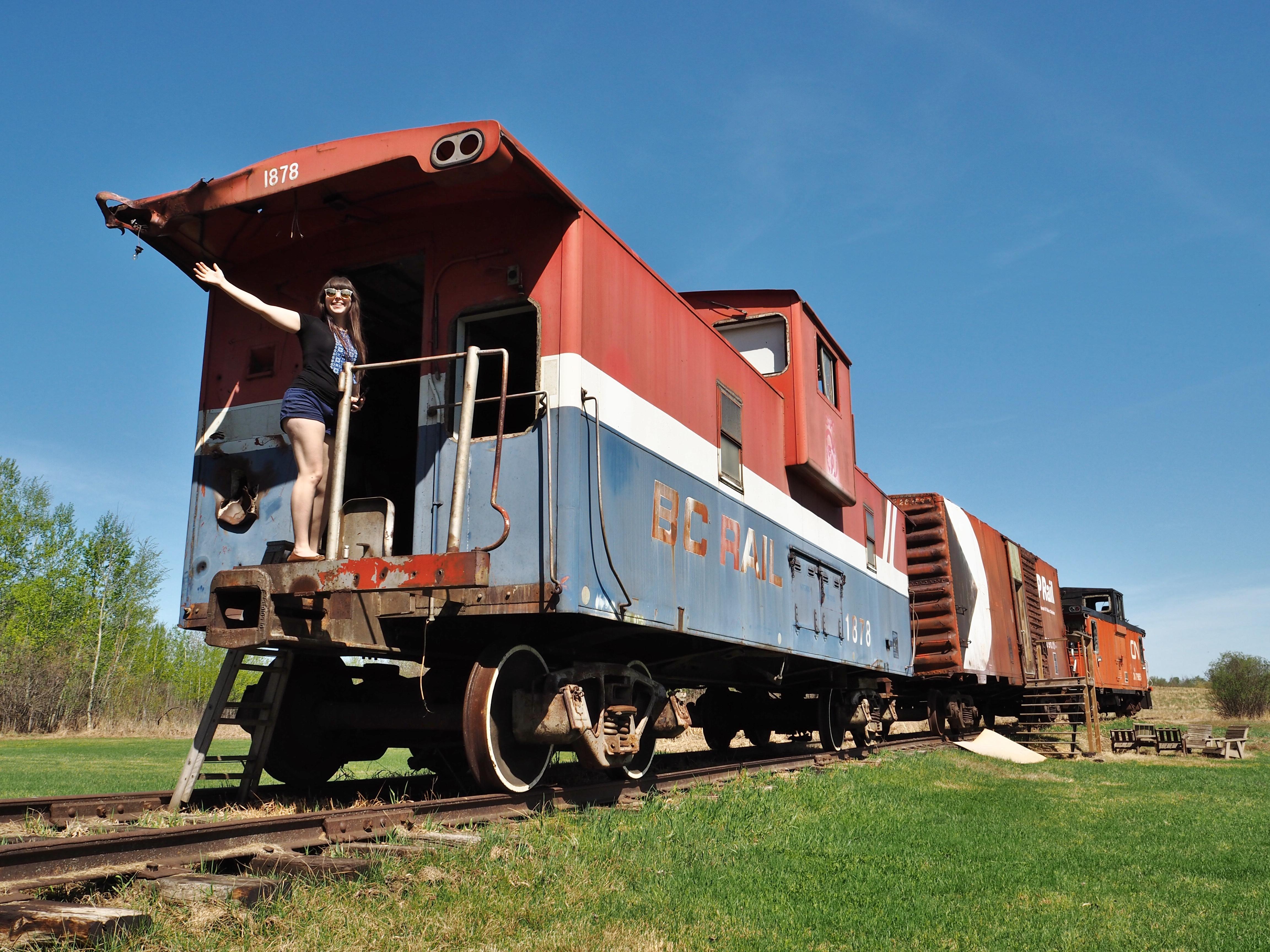 Edmonton Train Food Experience at Footloose Caboose