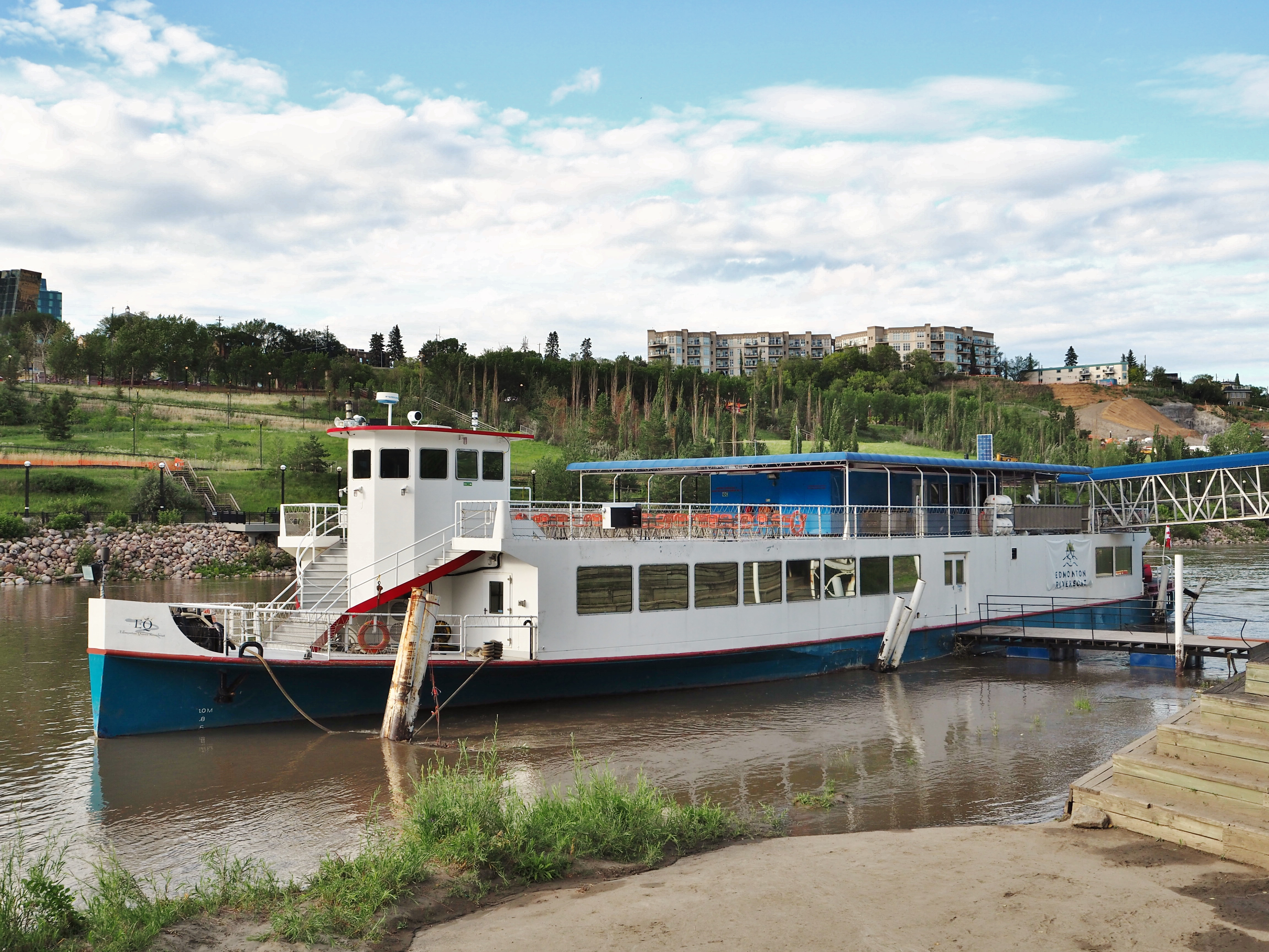 Looking for the Best View of the City? Experience the Edmonton Riverboat!