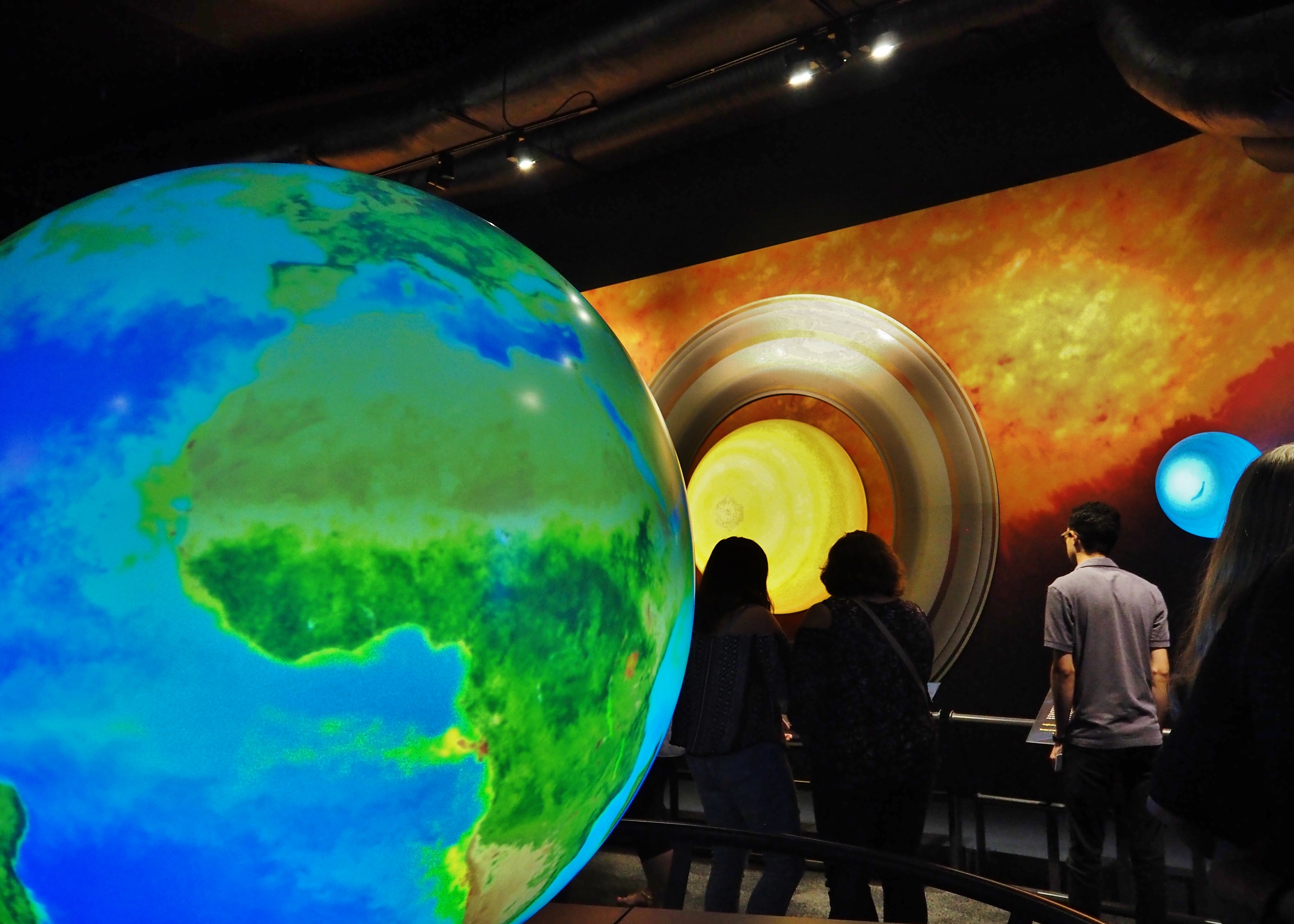 Sneak Peek! New Space Gallery & Star Theater at the Edmonton Science Centre